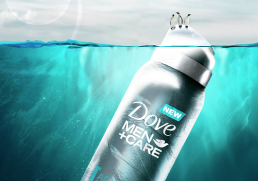Dove, for men