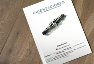 "Publications for Fundación Triángulo editorial. Graphic work and cover for number 8 of the magazine ""Orientaciones""."